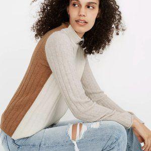 NWT Colorblock Evercrest Turtleneck Sweater